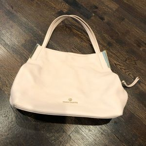 Vince Camuto light pink tote